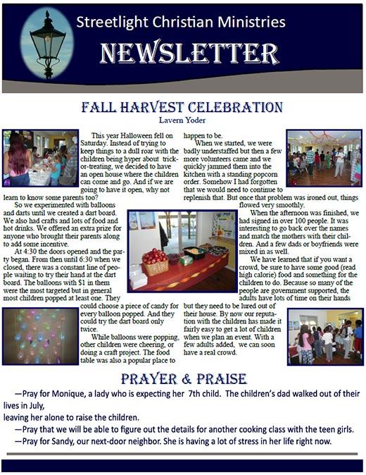 December 2015 Newsletter #10