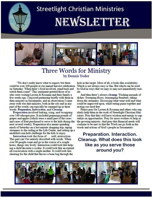 November 2016 Newsletter #13